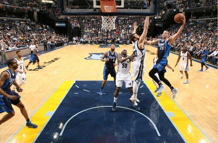 Chandler Parsons goes off for 30 points vs the Grizzlies