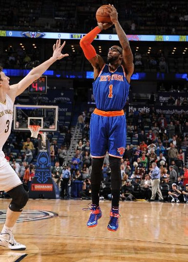 Amar'e Stoudemire continues to play like Vintage STAT vs the Pelicans (26pts, 5blks)