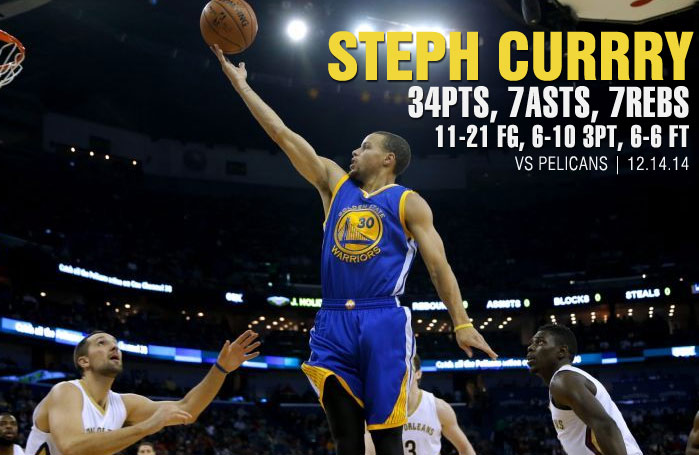 Stephen Curry Clutch in OT, scores 34 as Warriors win 16th straight