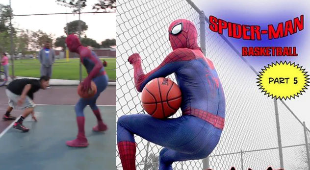Spider-Man Basketball Part 5: Nothin' But Web