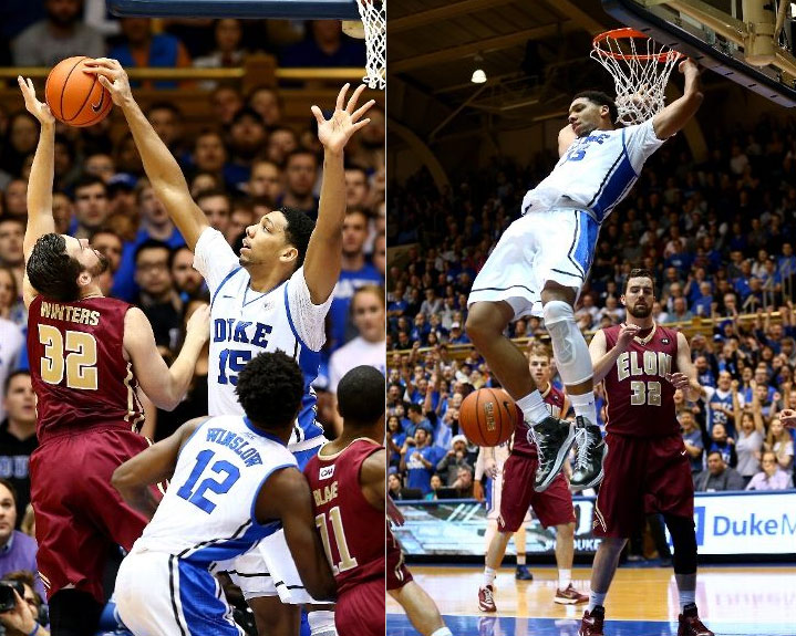Jahlil Okafor: The Most Dominant Big Man in College, goes for 25/20 on his birthday