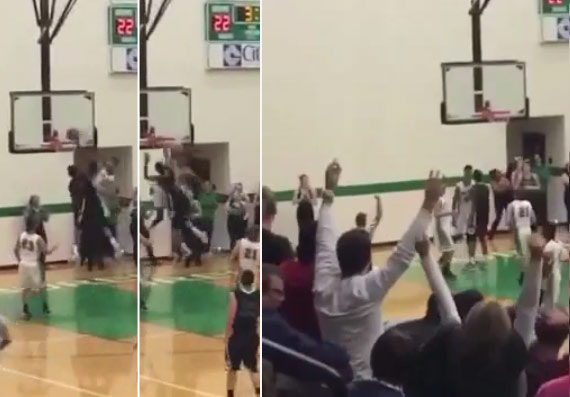 Don't jump with Malik Monk or this will happen to you. Don't say we didn't warn you all