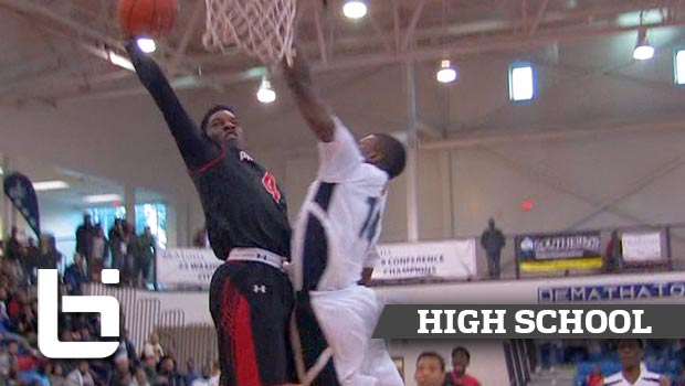 Marquis Waller Goes Chest to Chest for the POSTER at National Hoopfest