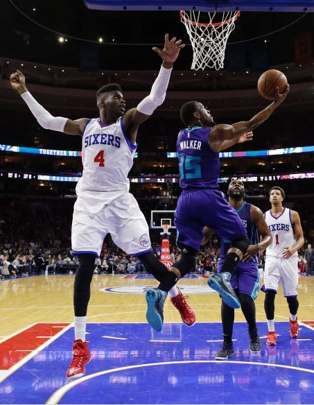 Kemba Walker scores season high 30 against MCW & the 76ers