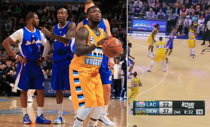 Nate Robinson 20 points in 16 minutes in win over the Clippers
