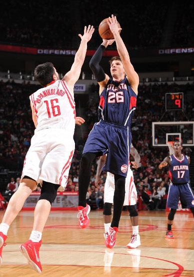 Kyle Korver 22 points in win over the Rockets