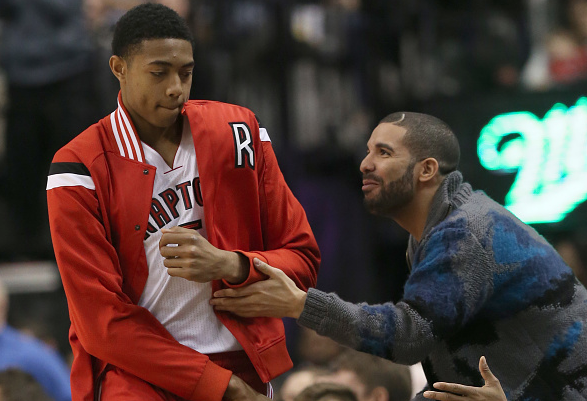 19yo Bruno Caboclo played vs the Knicks, gets creeped out by Drake