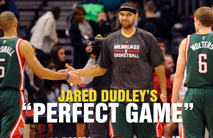 """Jared Dudley Has A """"Perfect Game"""" Against Hawks"""