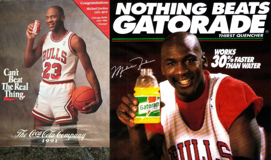 "The story behind Michael Jordan leaving Coke for Gatorade & the ""Be Like Mike"" campaign"