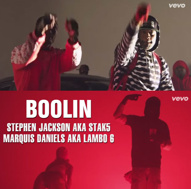 Stephen Jackson (aka Stak5) & Marquis Daniels have a new rap video out: Boolin