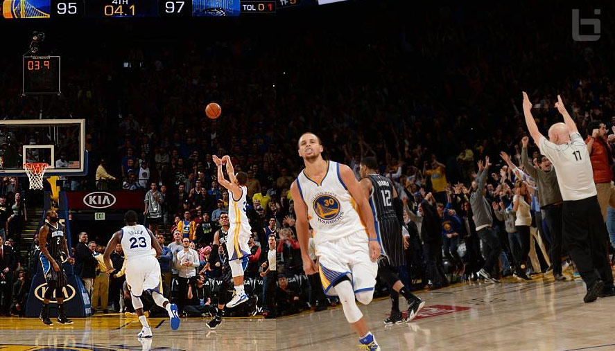 Steph Curry makes his 1st game-winning 3-pointer, 22pts vs Orlando