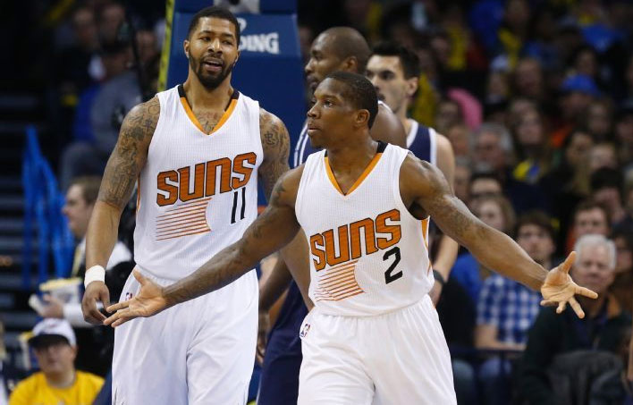 Eric Bledsoe 29pts & 8asts, including the assist of the night (360 pass) vs the Thunder