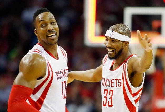 James Harden & Dwight Howard combine for 51 points in 28 minutes vs the Heat
