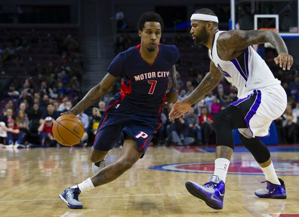 Brandon Jennings drank the DrewAid punch and hit everything he threw up against the Kings