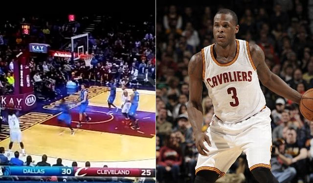 Dion Waiters shot 3 airballs in the first half vs the Mavs