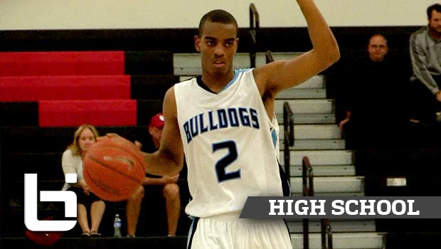 Troy Brown Is The #1 Ranked 10th Grade Point Guard! Tustin High Holiday Classic Mixtape