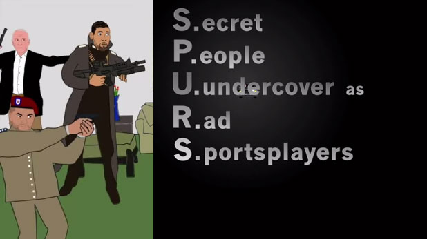 8 Great Moments from the San Antonio Spurs Special Forces Video