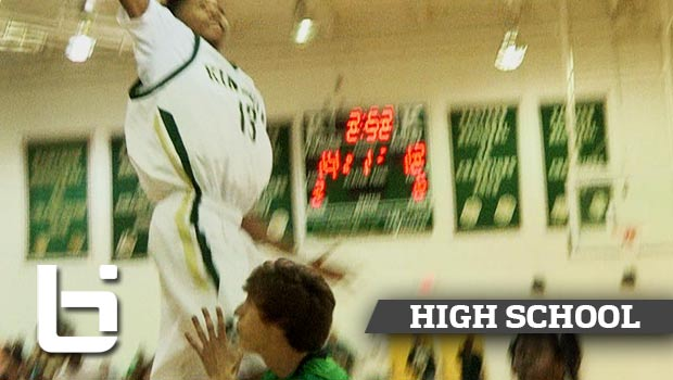 Brandon Ingram Puts Kid on POSTER with TKO Slam in Rivalry Game