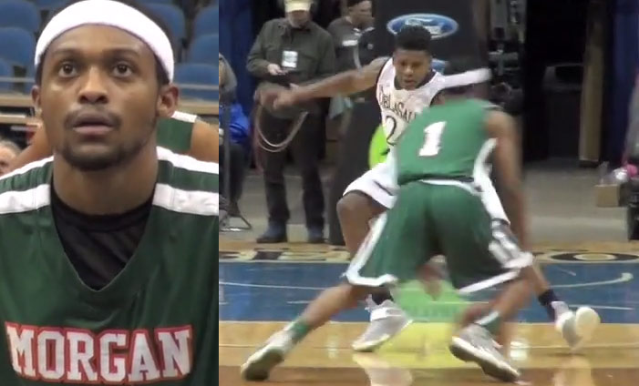 Marcus LoVett shows off his handles & drops 39 at the TWolves Shootout