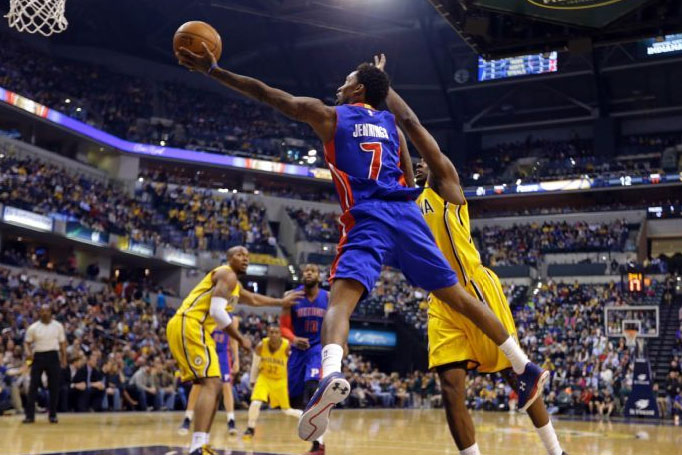 Brandon Jennings hits 8 3-pointers, scores 37 vs the Pacers