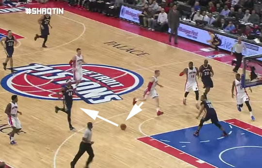 Shaqtin' a Fool feat bad flops, no-look passes and dancing