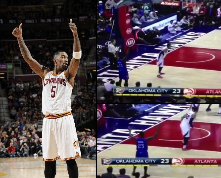JR Smith hits 7 3-pointers in 39 point win, meanwhile Waiters is still calling for the ball