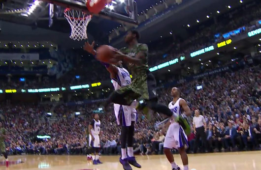 Terrence Ross with the pretty reverse layup