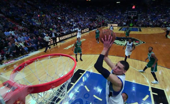 Zach LaVine's 2 Dunks vs The Celtics is Not Why He's In & Probably Will Win the Dunk Contest