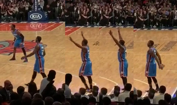 A wide-open Dion Waiters calling for and not getting the ball