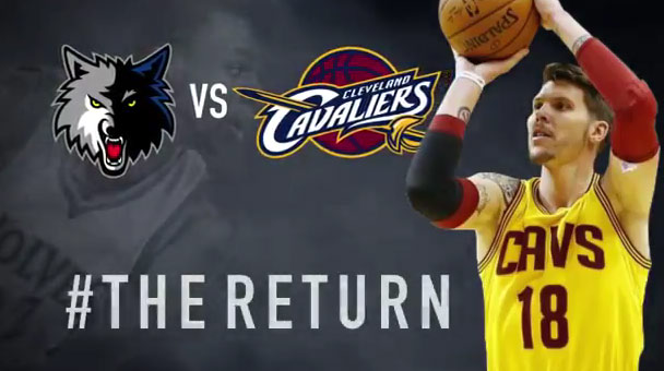 The TWolves are showing no Love for Kevin Love in Cavs/TWolves promo