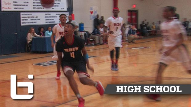 Dennis Smith Slams Down Oop After Self Bounce Pass in a Game!