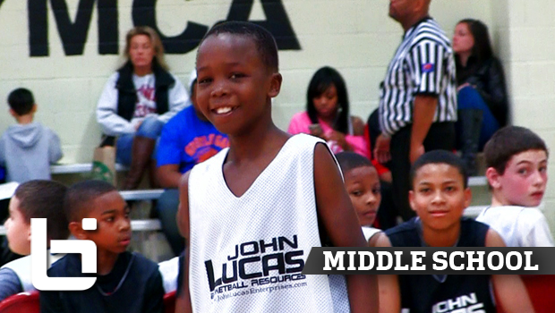 6th Grade PG Boopie Miller Lights Up Lucas Camp!