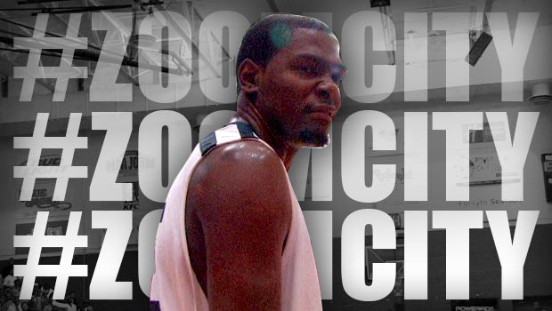 Kevin Durant Is The Baddest Scorer In The World! #ZOOMCITY