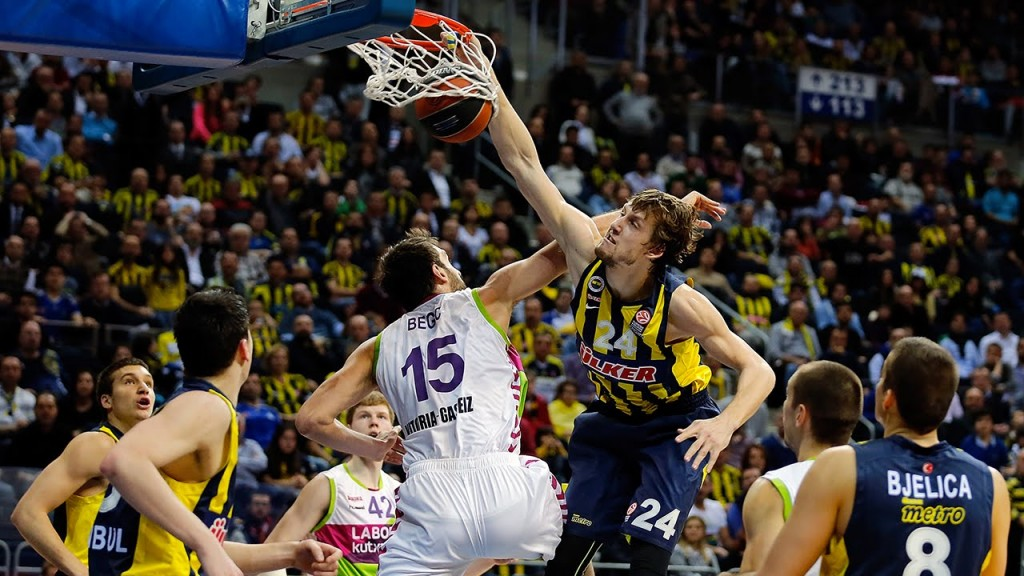 Jan Vesely Remember Him Nasty Poster Dunk Over Mirza Begic