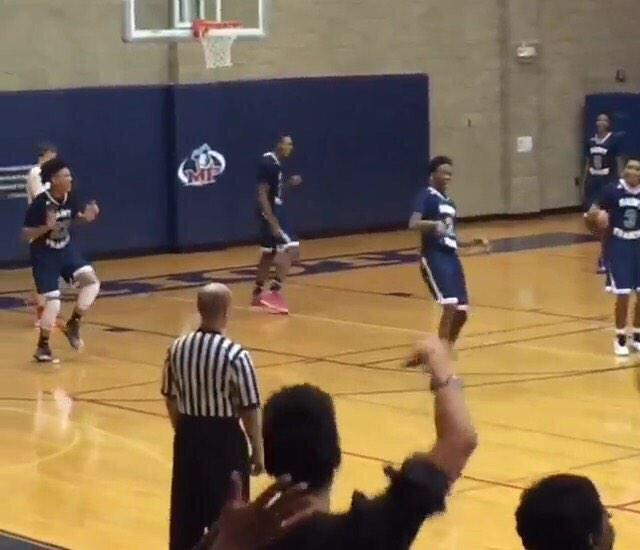 "Hilarious video of St Francis players dancing during one of the ""worst high school games ever"""