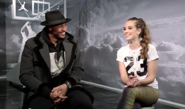 Carmelo Anthony Interview + Tour of Terminal 23 (NBA2kTV w/ Rachel DeMita)