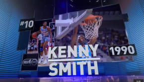 Kenny Smith s Top 10 Dunk Contest Dunks of All Time   YouTube
