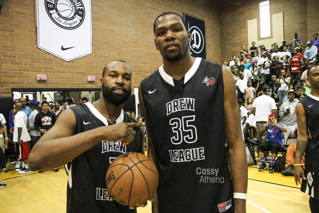 Baron Davis Talks Celebs Who Could Make the League & Drew League Documentary
