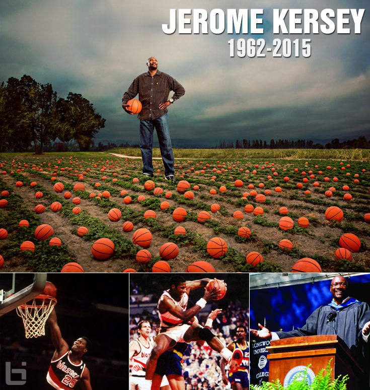 "Tribute to Trailblazer Legend Jerome ""Mercy"" Kersey (1962 – 2015)"