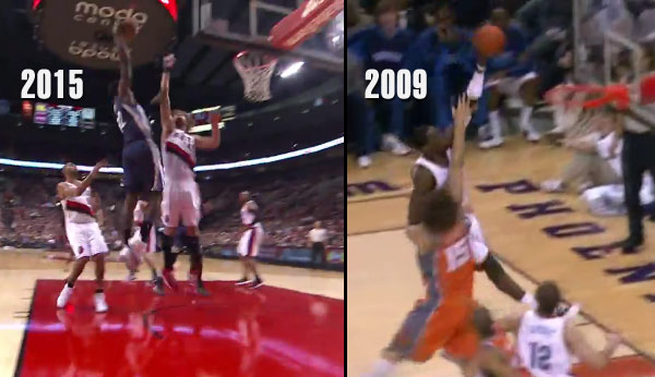 Just like old times, Jeff Green dunks on Robin Lopez 6 years after the first time