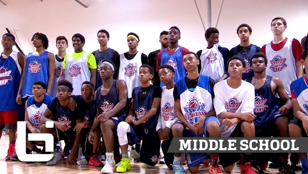 Top Middle Schoolers Show Out at Pangos Jr All American Camp 2015