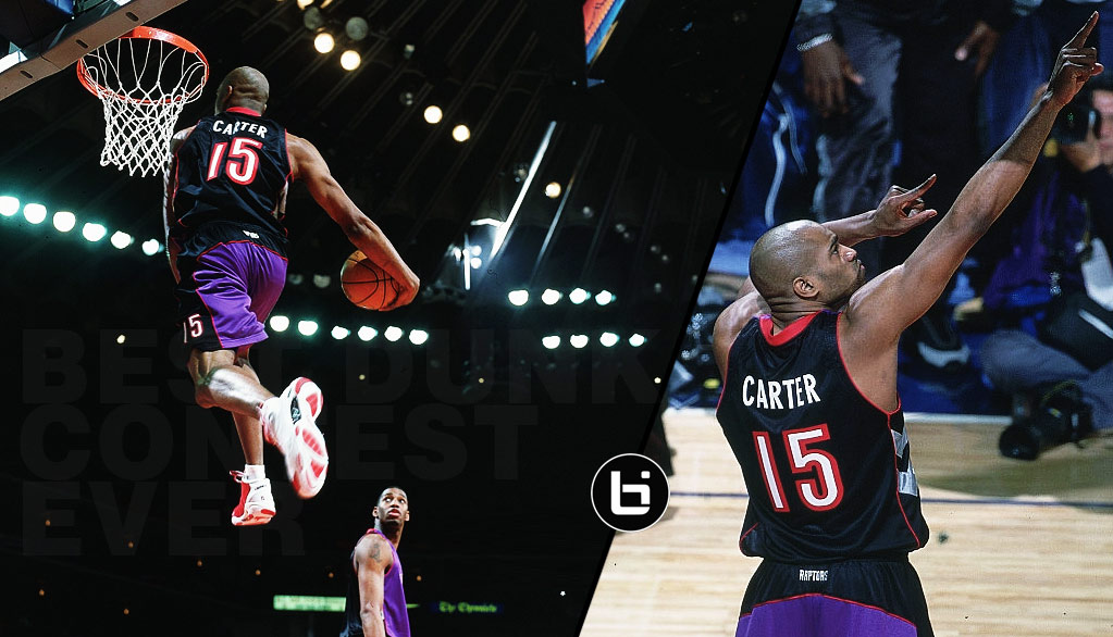Vince Carter Looks Back At The 2000 Slam Dunk Contest...