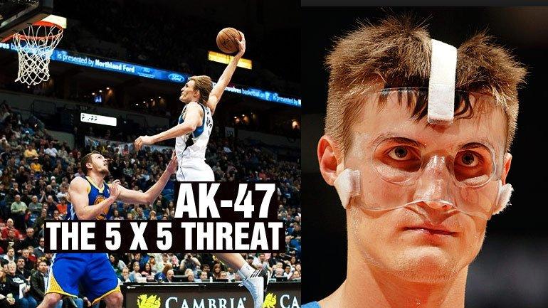 Andrei Kirilenko aka AK-47 aka the 5×5 Threat