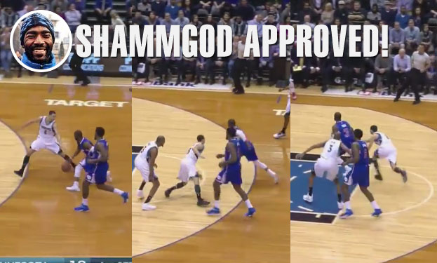 Chris Paul Hits Zach LaVine With The Shammgod Crossover & KG With A Dagger