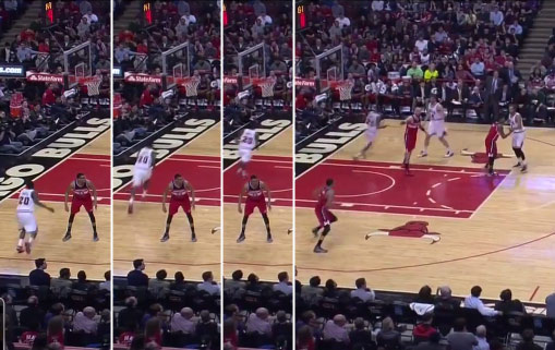 Disconnected Controller: Otto Porter Freezes During the Bulls Game