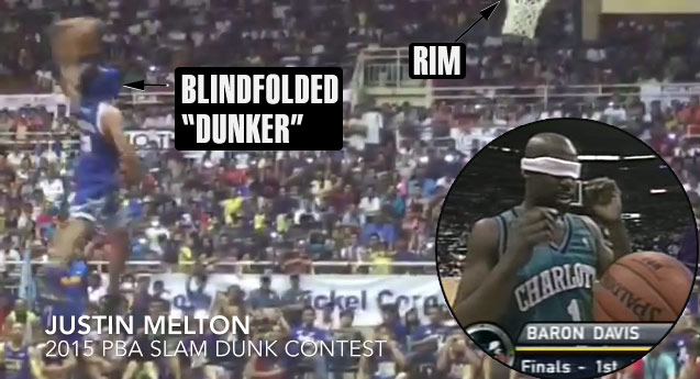 2015 Philippines Dunk Contest: Baron Davis No Longer Has The Worst Blindfold Dunk Ever