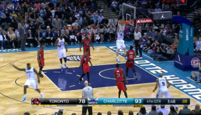 Lance Stephenson s Flashy No Look Pass to Zeller   YouTube