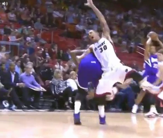 DeMarcus Cousins & Michael Beasley Get Tangled Up