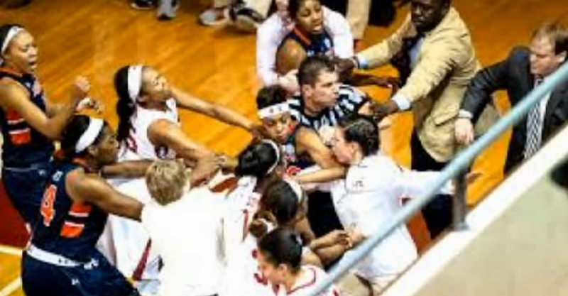15 Suspended & 1 Player Kicked Off Team After Women's Basketball Brawl