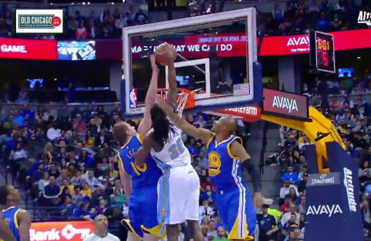 Kenneth Faried 24pts, 17rebs & 2 dunks over David Lee